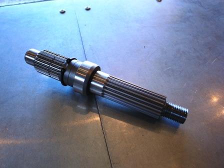 Steady Garage Custom Yamaha Zuma 125 Short Axle | SCR_WORKS