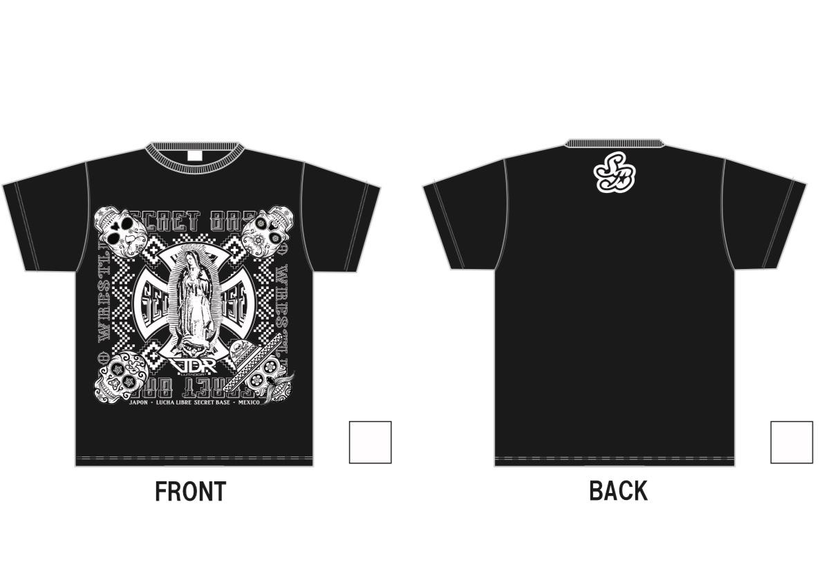 LUTADOR FIGHTがデザインを手がける『SECRET BASE×LUTADOR FIGHT』シリーズの新作Tシャツ!