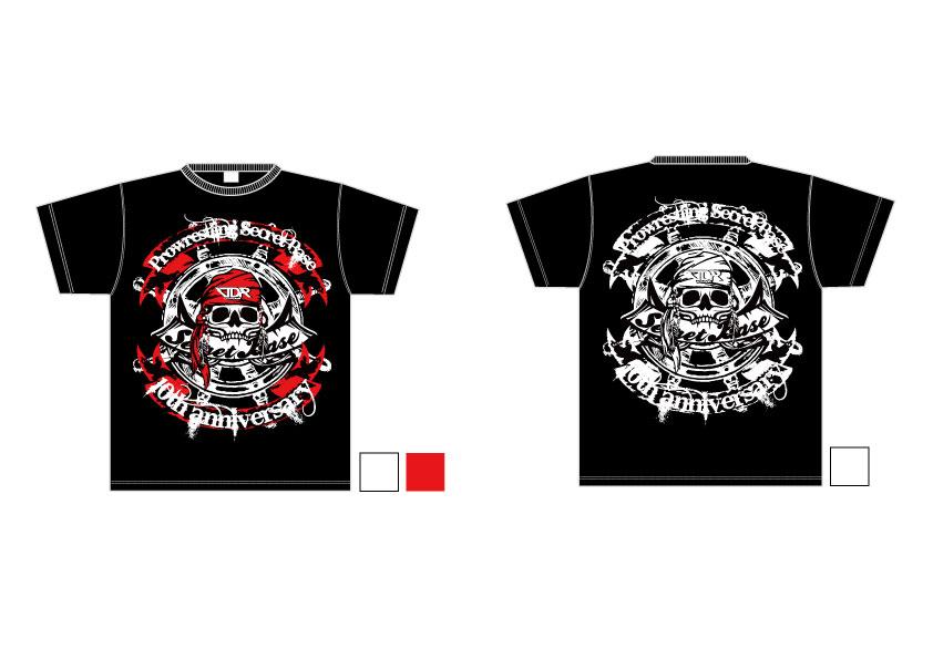 LUTADOR FIGHTがデザインを手がけるSECRET BASE・10周年Tシャツ!!