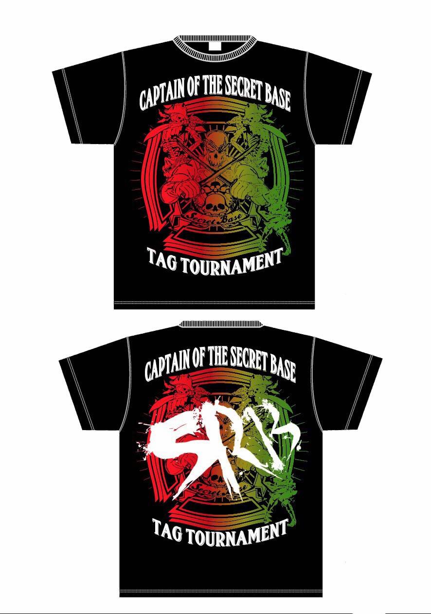 2代目タッグ王座決定トーナメントTシャツ!