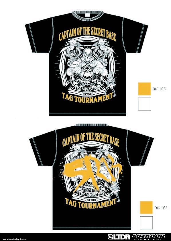 初代タッグ王座決定トーナメントTシャツのオレンジカラーVer.