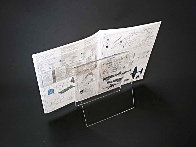 組立説明書見開き寸法W380×H345