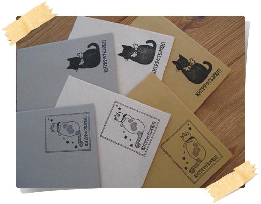 ベージュ・グレー・マスタードの3色の封筒です♪