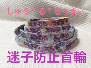 迷子防止首輪とワンコ服~しゅう*る*るぅきぃ~