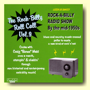 【THE ROCK-BILLY ROLL CALL VOL.9】CDR V.A