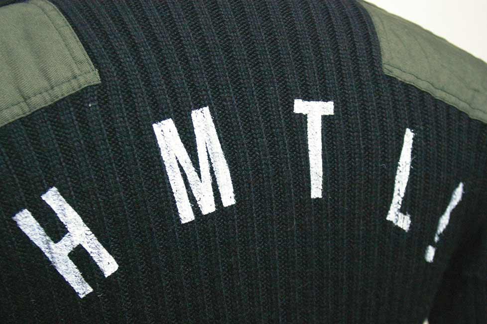 """HTK-131 Back """"HAMATOLA!"""" Initial Print"""