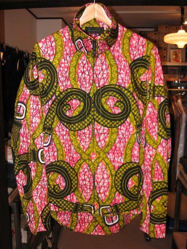 CCP×softsのアフリカンバティックライディングシャツジャケットその2