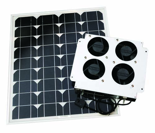 高風量ソーラー換気扇「フウリキ1」