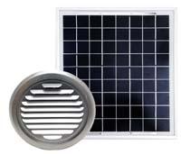 完全独立型ソーラー換気ユニット、床下換気に最適