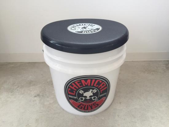 CHEMICAL GUYS BUCKET & CAP(BLACK)
