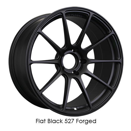 Flat Black Forged