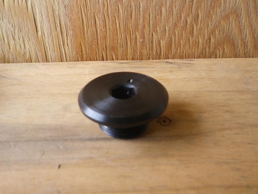 鉄製ドレンボルト ワイヤリングホール加工済み
