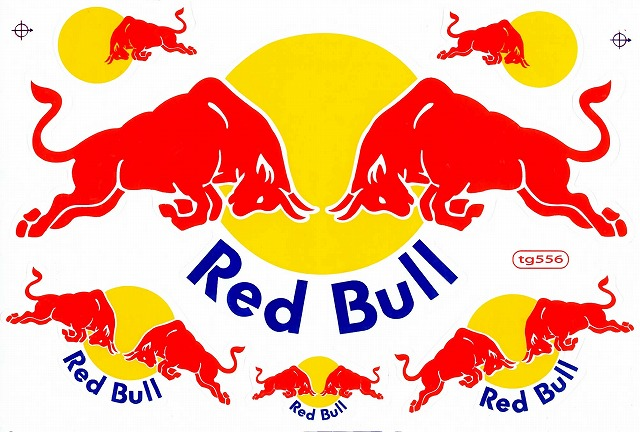 Red Bull レッドブル ステッカー ...