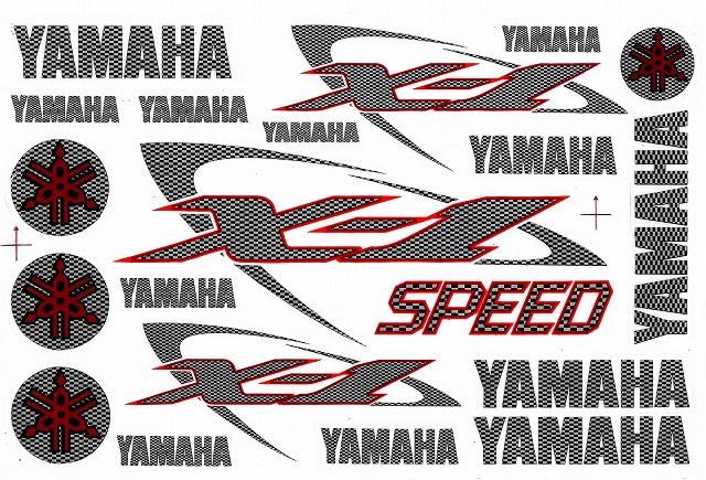YAMAHA X1 ステッカー B5 N037