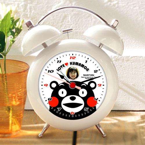 くまモンのオリジナル目覚し時計