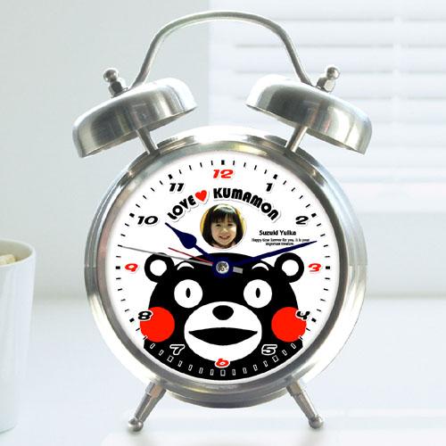 くまモンの録音機能付目覚し時計