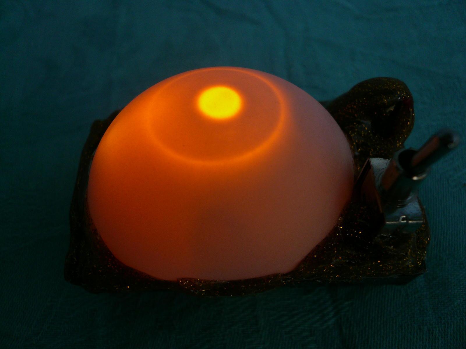 『かぐや姫の瞳A』(竹灯籠用)電子ローソク単体