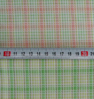 <P>C-62先染めグリーンXイエロー C3</P> <P>108cm幅綿100%<BR>1m ¥600<BR></P>