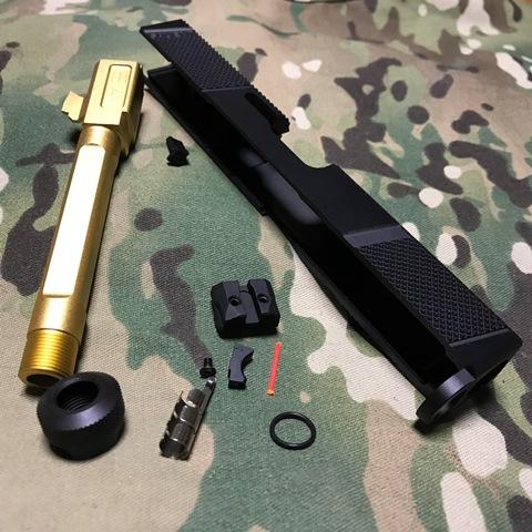 メーカー: EMG<div><br></div><div>Salient Arms公認のUtilityスライドキット</div><div>Umarexグロック17 Gen4用</div>