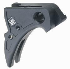 <b>メーカー:GunsModify<br><br>「Salient Arms」タイプGLOCKトリガー<br>東京マルイGLOCK17/18C対応に対応しています。<br>・ブラック、シルバー、ゴールドのトリガーセフティ付属<br>・最大純正のストロークより50%短くすることができます</b>