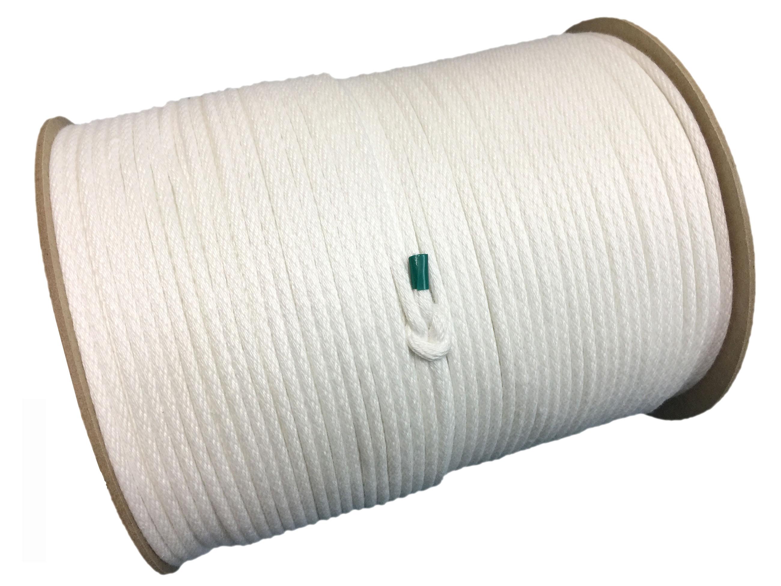 <b>ポリエステル </b><b><b><b>短繊維 </b></b>組み紐<br>径:4mm 300M巻き</b>