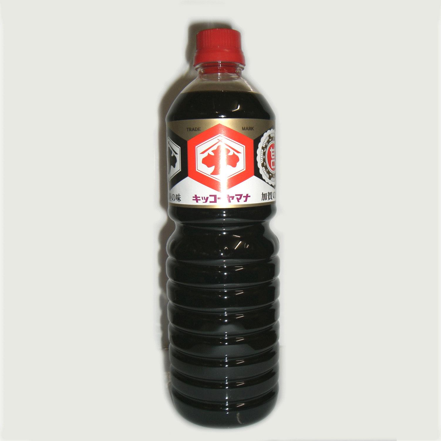 醤油の名産地、石川県のうま口醤油です。こいくち醤油より一段と甘さを強めに仕上げてあります。