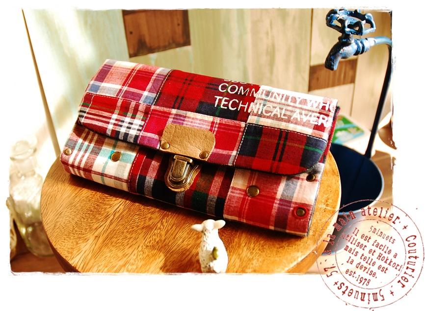 インド綿の長財布