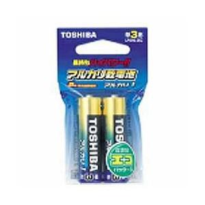 東芝アルカリ乾電池2コx10個 1箱<br>ブリスターパック<br>頻繁に使う商品アルカリでどうですか。<br>電池のデザインは予告なく変更する場合がございます。