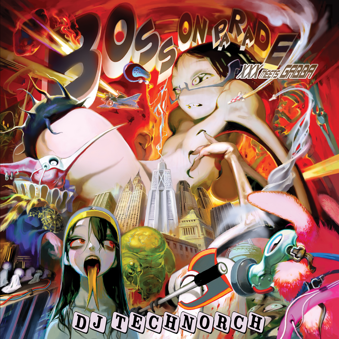 DJ TECHNORCH / BOSS ON PARADE