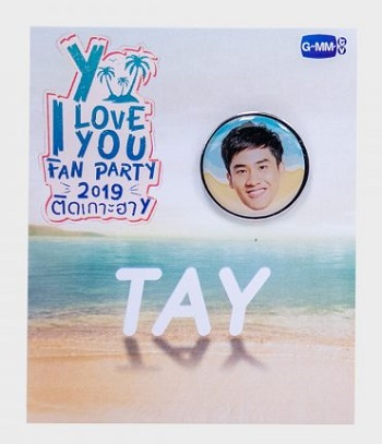 Tay ピンバッジ I Love You