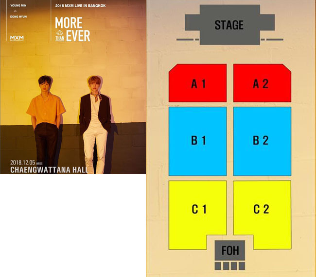 2018 MXM [MORE THAN EVER] LIVE IN BANGKOK
