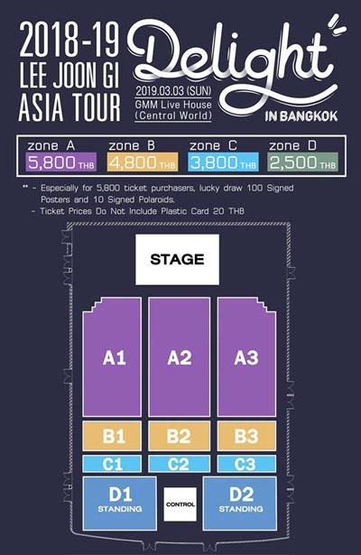 Lee Joon Gi Asia Tour Delight in Bangkok