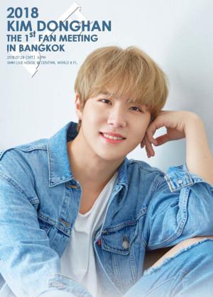 2018 KIM DONGHAN THE 1ST FAN MEETING IN BANGKOK