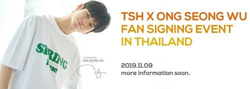 TSH&ONG SEONG WU FAN SIGNING EVENT THAILAND