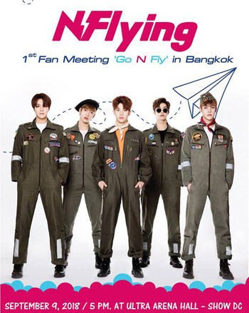 2018 N.Flying 1st Fan Meeting 'Go N Fly' IN BANGKOK