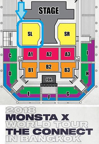 MONSTA X THE 2ND WORLD TOUR BANGKOK 2018