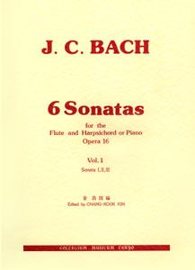 モーツァルトに影響を与えたバッハの末子によるファクシミル版から現代の奏者のために、東京芸大フルート科・金昌國教授がスペシャル・アレンジ。