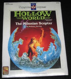 TSR社 D&D ダンジョンズ&ドラゴンズ<br />Dungeons&Dragons第四期<br />Hollow World用シナリオモジュール HWQ1 9378<br />ホロゥワールド サプリメント<br />ザ ミレニアン セプター<br />※ 本品は洋書ですので内容は英語表記となります<br /><br />■ コンディション……【美】<br />シュリンクラップにつつまれたデッドストック品。<br />ほぼ新品同様です。<br />