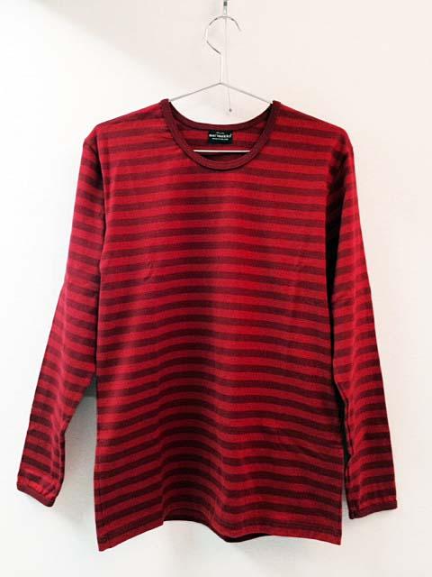 <p>マリメッコの長袖ボーダーTシャツ。</p><p>Sサイズ表記ですが、日本人にはかなり大きめの作りです。</p><p>ゆったり着られるのを好まれる方におすすめです。部屋着としても可愛いと思います。</p><p>※数回着用したと思われますが、状態は良いです。洗濯済みです。</p><p><br></p><p>&nbsp;</p>