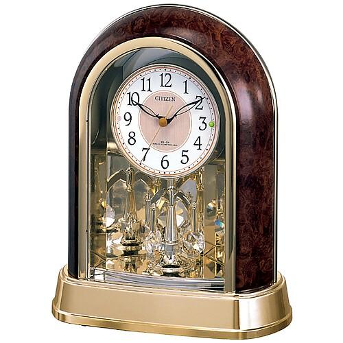 """【シチズン パルドリームR656電波置時計4RY656-023】<br />誤差ゼロで駆動する電波修正置時計です。<br />回転飾り(スワロフスキー・クリスタル使用)が優雅に動くギフトに最適な時計です。<br /><B><FONT COLOR=""""RED""""SIZE=""""2"""">36%OFFのネット限定特別価格</FONT></B>でご提供します。<br />メーカー希望小売価格10,000円+税"""