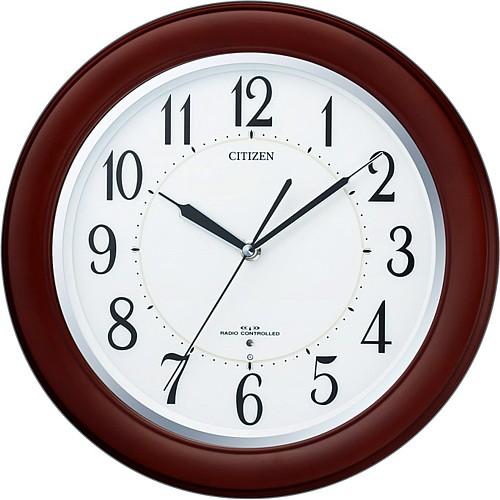 """【シチズン リバライトF461夜でも見える電波掛時計(8MY461-006)】<br>夜になって部屋の電灯が消えると、時計に内蔵された光センサーが暗さを感知して、文字盤前面が自動点灯し、夜でも時刻が確認できる便利な時計です。文字盤点灯の明るさは、ボリュームタイプのツマミで無段階(暗~明)調節が可能です。<br><b><font color=""""red"""" size=""""2"""">35%OFFのネット限定特別価格</font></b>でご提供します。<br>メーカー希望小売価格15,000円+税"""