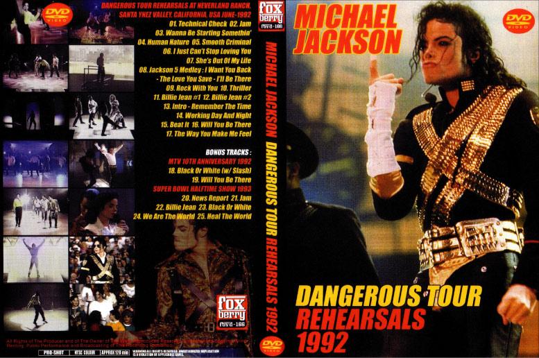 1992~1993年にかけて行われた大規模なワールドツアーから決定版 となったヨーロッパ公演前に行われたツアーリハーサル、 同時期のテレビ出演などを併せて収録したデンジャラス関連レアリティーズ。 ちょうどこの時期あたりからマイケルの様々なスキャンダルが 取り上げられはじめたことでもファンには感慨深い映像集です。 単なるシンガーから何かを超越したある種特別な存在へと変貌していく姿がここにあり