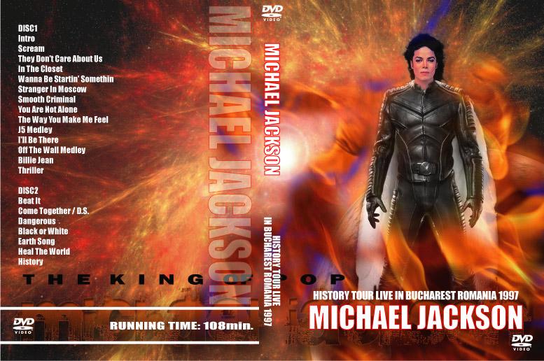 マイケル・ジャクソンのブカレストのライブ、2枚組みです。 内容の濃い1本となっております。 オススメの1本です。