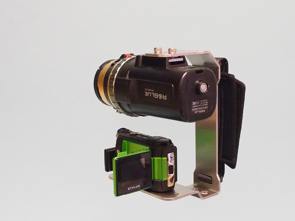装着例②(カメラ、ライトは別売り)