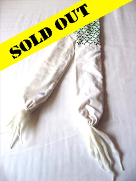 SOLD OUTウール:ホワイト サイズ:W.120 L.1570