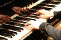 ピアノでも伴奏できます