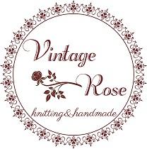 *vintage rose* online shop ~編み物・手編み雑貨~