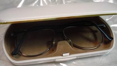 老眼鏡・眼鏡を入れた例