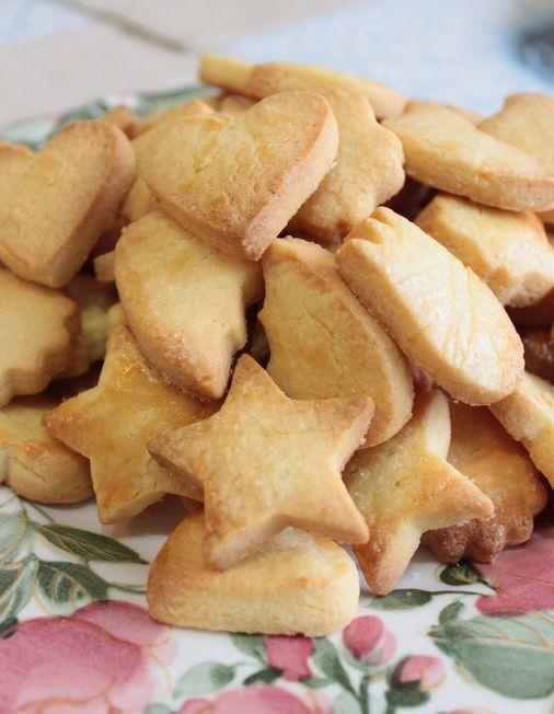 いろいろな型抜きクッキーです。