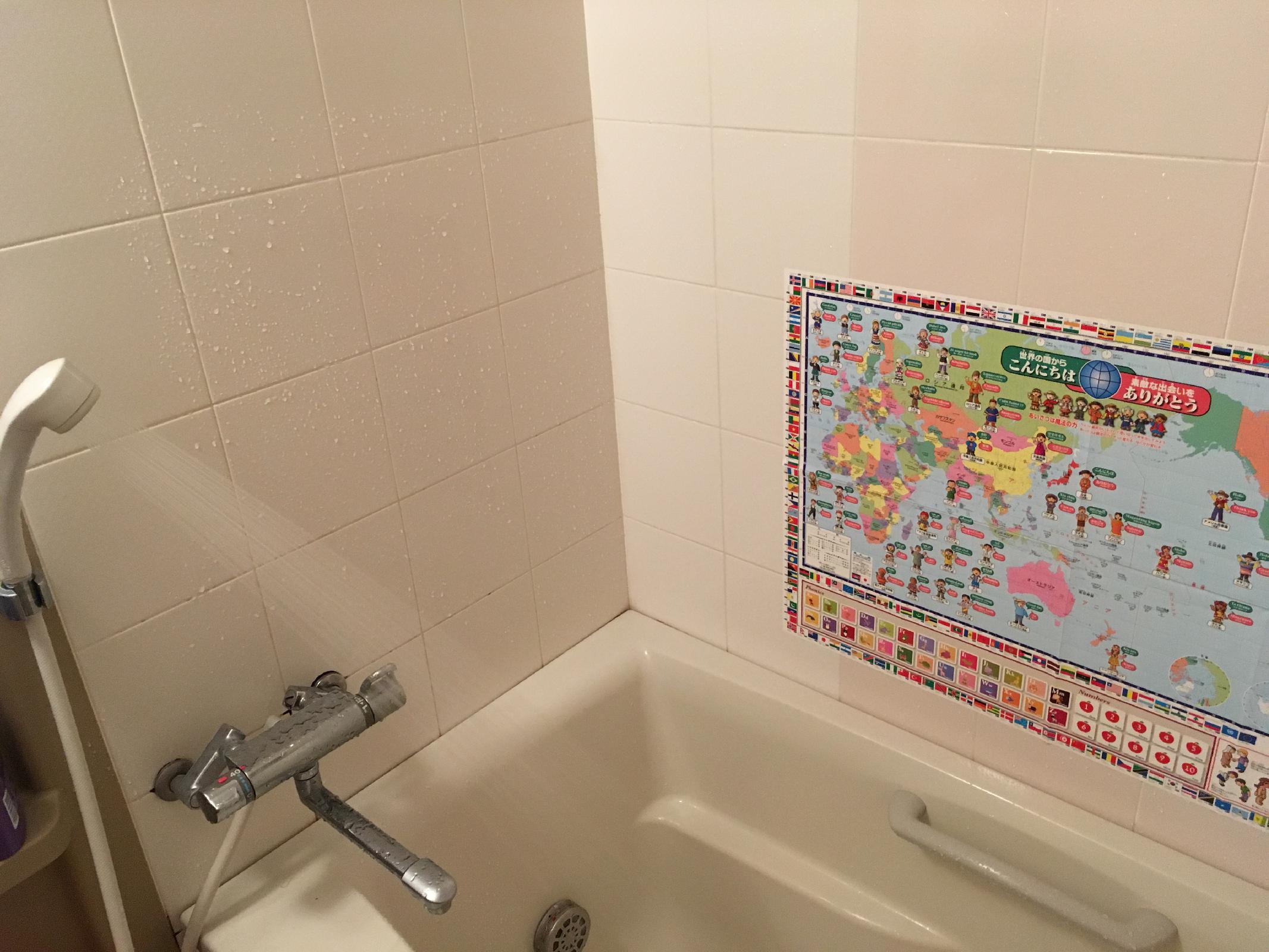 お風呂場でも使えます!
